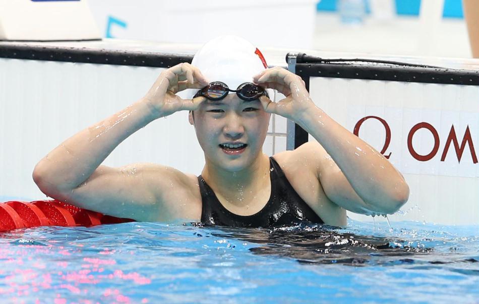 叶诗文李玄旭出战400米混合泳(图) 图片合集图片